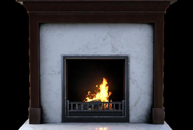cheminée en marbre
